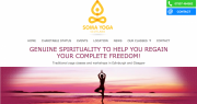 Soma Yoga Scotland home page