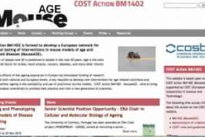 MouseAGE COST Action website by AlbanyWeb