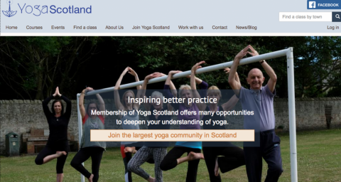 Yoga Scotland home page